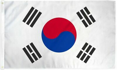 2x3 South Korea Flag Korean Banner Asian Pennant Indoor