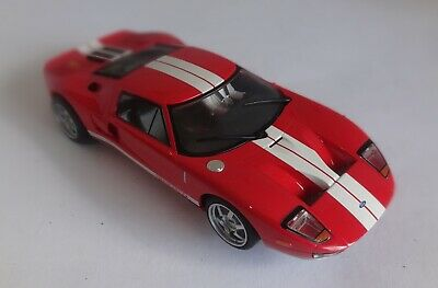 Scalextric C Ford GT  Red 'Top Gear' Working Lights