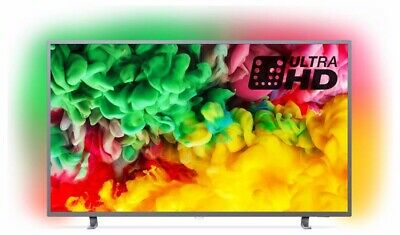 Philips 43 Inch 43PUS Smart UHD Ambilight TV with HDR