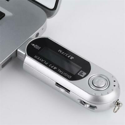 Portable USB Digital MP3 Music Player LCD Screen Support