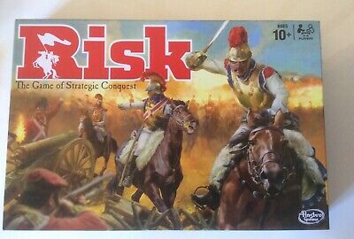 Risk Board Game Hasbro Strategic Family Fun Used only once