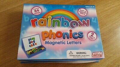 Junior Learning Rainbow Phonics Magnetic Letters and