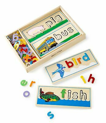Melissa & Doug See & Spell Wooden Educational Toy
