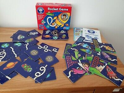 Orchard Toys - ROCKET GAME - Age 4/7 Years - Educational -