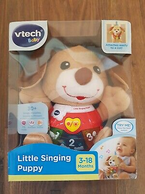 VTech Baby Little Singing Puppy 3-18 Months Baby Toy - Brand