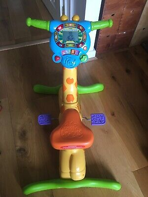 Vtech Ride and Learn Giraffe Bike Excellent condition