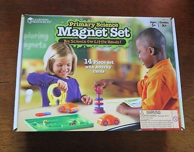 Learning Resources - Primary Science Magnet Set - Used VGC