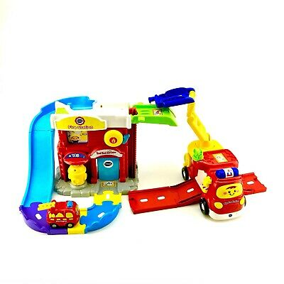 Vtech Toot Toot Drivers Fire Station Deluxe Kids Toys Superb