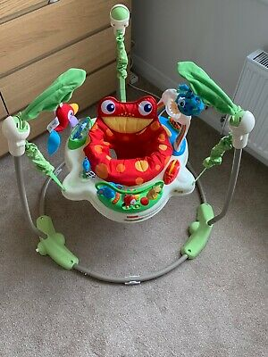 Fisher Price Rainforest Jumperoo musical baby bouncer