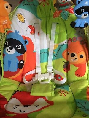 Fisher Price Woodland Friends Take Along Baby Swing Folds