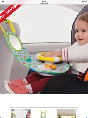 Taf Toys Car Wheel Baby/Kids Toy Travel Activity Centre With