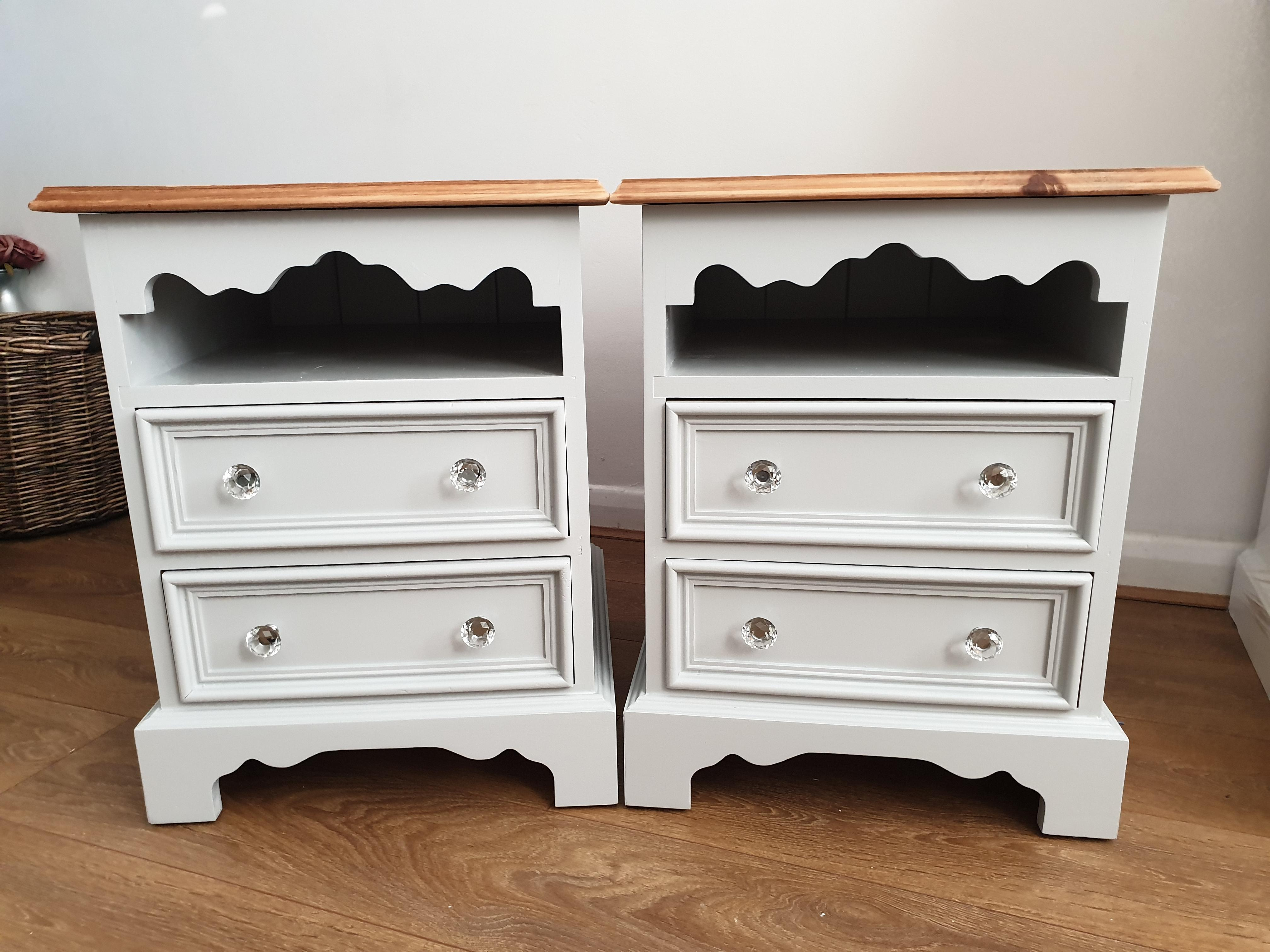 2X Solid pine bedside tables FREE DELIVERY AROUND