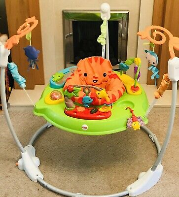 Fisher-Price Roaring Rainforest Jumperoo Baby Bouncer Seat