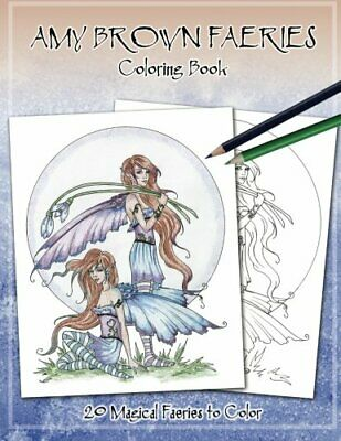 AMY BROWN FAERIES COLORING BOOK 3 **BRAND NEW**