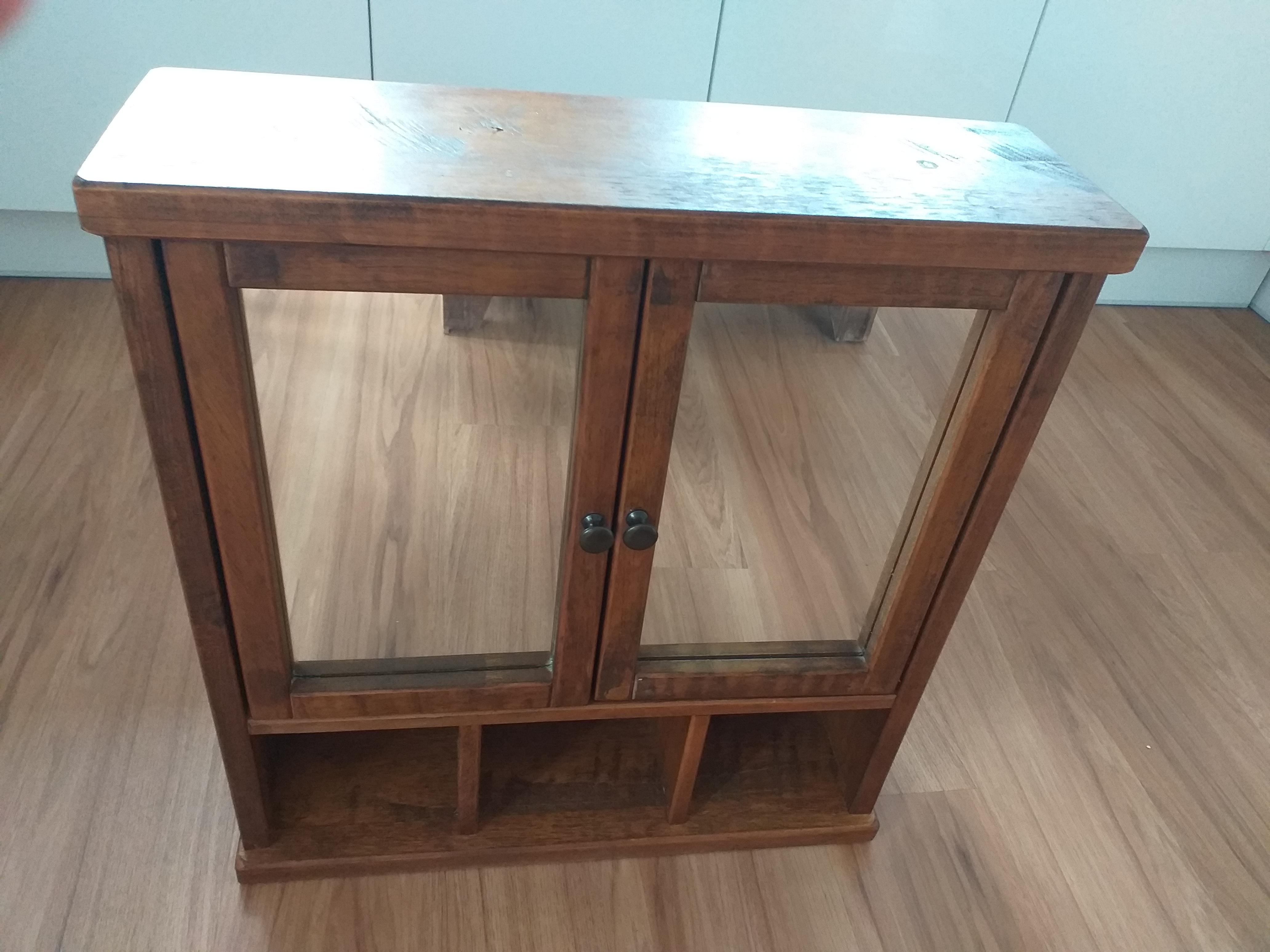 Next solid wood bathroom cabinet excellent condition