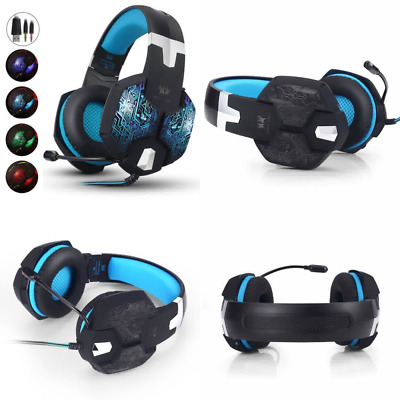 Aizbo® Gaming Headset LED Over-Ear Headphone Stereo Headset