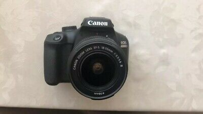 Canon EOS D DSLR Camera with EF-S mm And EF - S