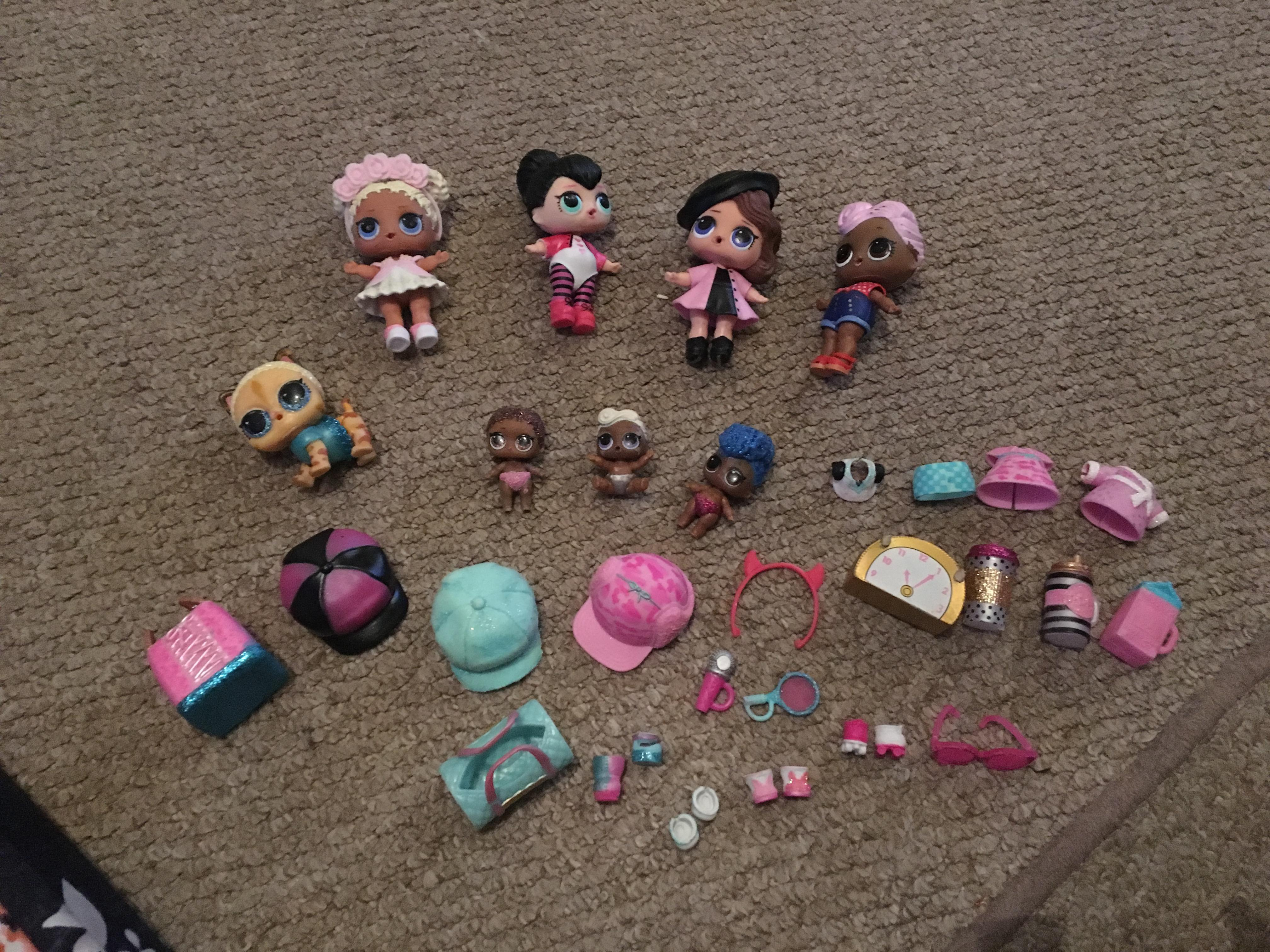 LOL Dolls and accessories