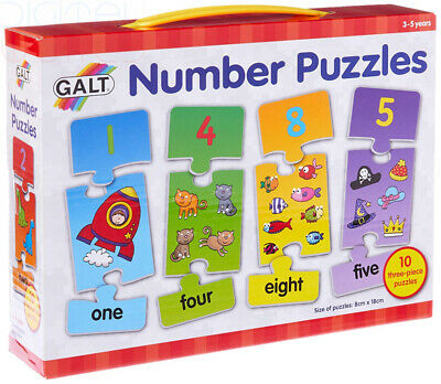 Galt Toys Number Puzzles multicoloured