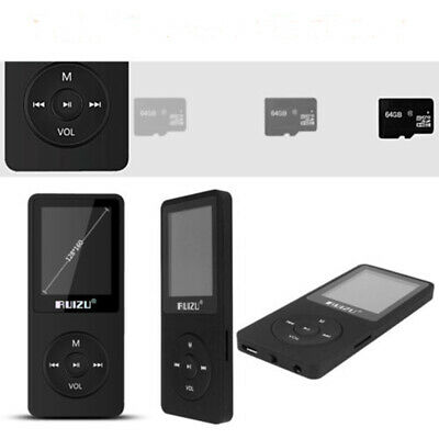 NEW BLACK 8GB LOSSLESS MP3 MP4 PLAYER MUSIC VIDEO FM TUNER