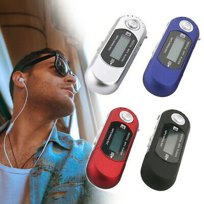 New 32GB Mp3 Usb Player With Lcd Screen Fm Radio Voice