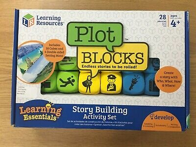 New Learning Resources Plot Blocks Story Building Activity