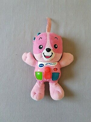 Pink VTech Baby Little Singing Bear toy 3-18 months