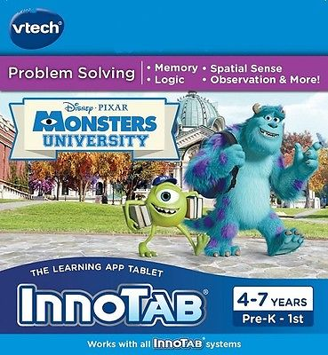 Disney Pixar's VTech InnoTab Monsters University