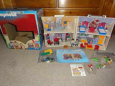 Complete Playmobil  Take Along Doll's House - Complete