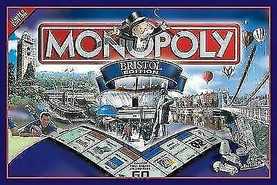 Monopoly Bristol Edition Board Game - Brand New