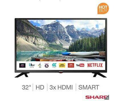 Sharp LC-32HGK 32-Inch Smart LED TV with Freeview