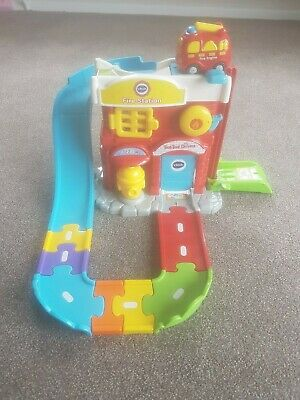 Vtech Toot Toot Drivers Fire Station - Excellent Condition