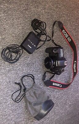 Canon EOS 6D 20.2MP Digital Camera With Canon EF 40mm f/2.8
