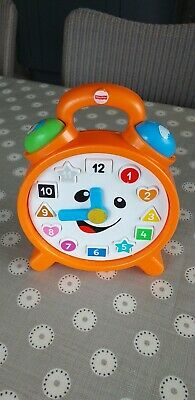 """Fisher Price """"Laugh and Learn"""" Counting Colours Clock"""