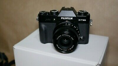 Fujifilm X-T20 Digital Camera - Black Body Only