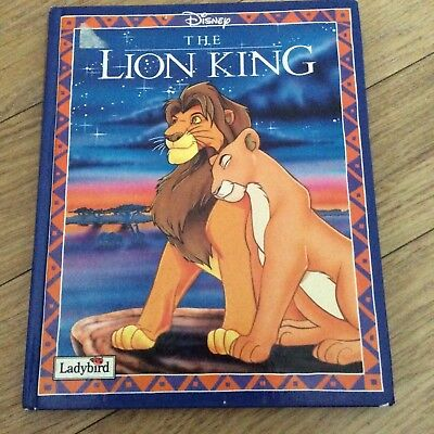 CHILDRENS DISNEY THE LION KING BOOK
