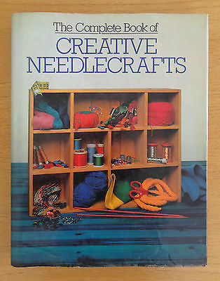 The Complete Book of CREATIVE NEEDLECRAFTS - Hardback with