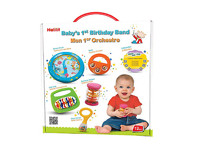 Halilit Baby's First Birthday Band Musical Instrument Gift