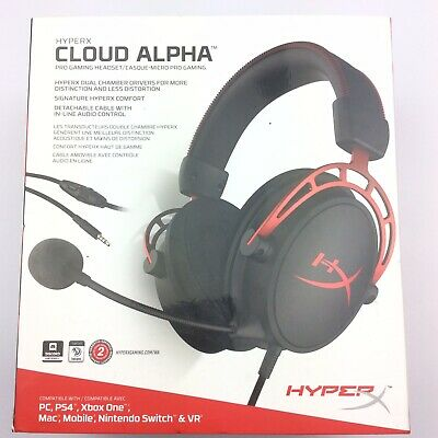 HyperX Cloud Alpha Pro Gaming Headset for PC, PS4 & Xbox One
