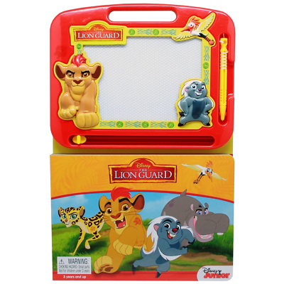 The Lion Guard - Learning Book with Magnetic Drawing Pad