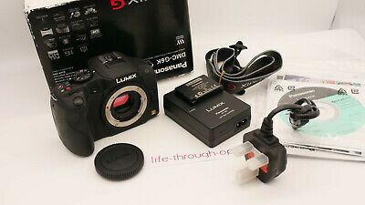 Panasonic LUMIX DMC-GMP Digital Camera - Black (Body
