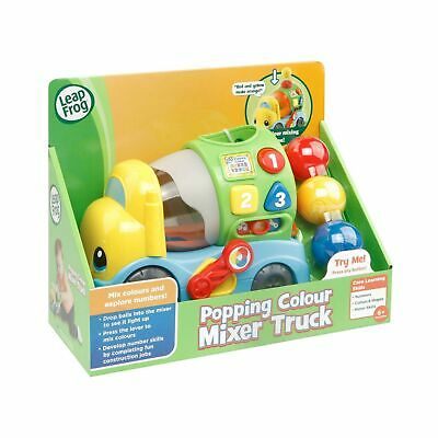 LeapFrog  Popping Colour Mixer Truck Learning Baby Toy