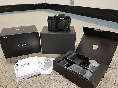 *NEW*Fuji X-T2 Digital SLR Camera Black Body Only*UK