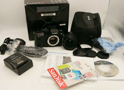 Panasonic LUMIX DMC-G MP Black 4K DIGITAL HD Camera +