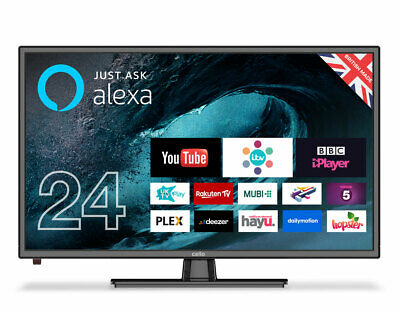 """Cello 12 volt C24FVP 24"""" Smart LED TV with Freeview T2 HD"""