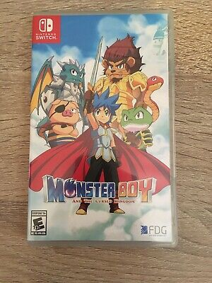*MINT* Monster Boy and The Cursed Kingdom for Nintendo