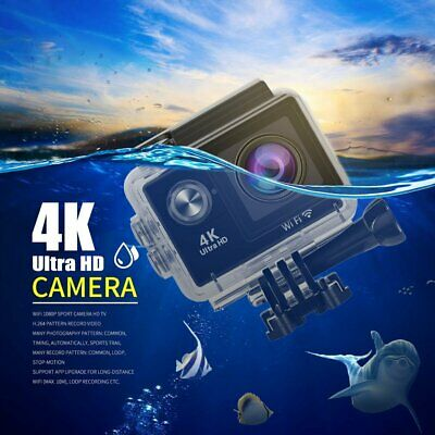 Ultra 4K Full HD P Wifi Waterproof DVR Sports Action