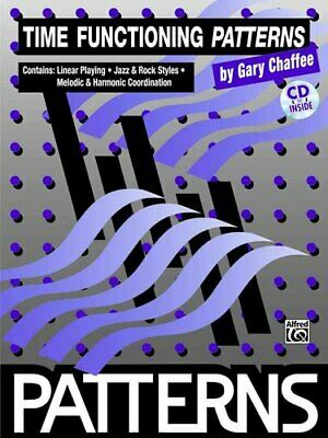 Time Functioning Patterns Book & CD by Gary Chaffee