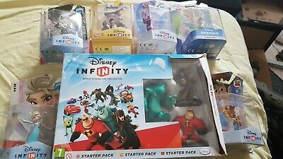 Disney Infinity Nintendo 3DS Starter Pack. Boxed. Complete.