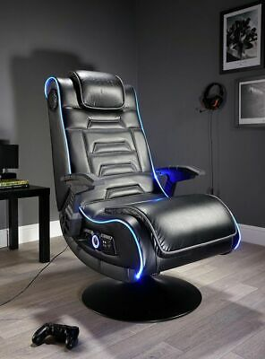 X Rocker New Evo Pro Gaming Chair LED Edge Lighting Optical